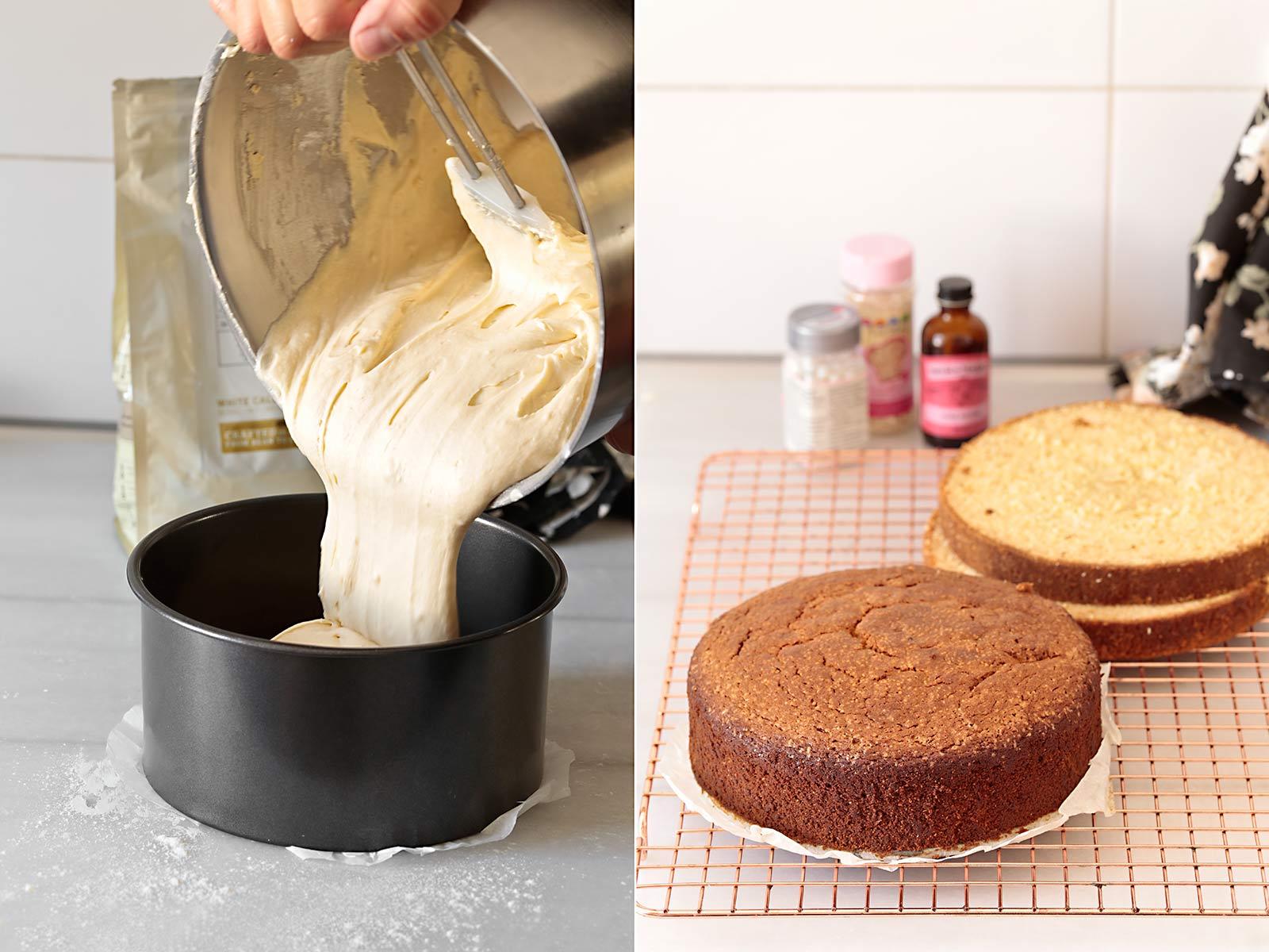 Receta layer cake Día de la Madre
