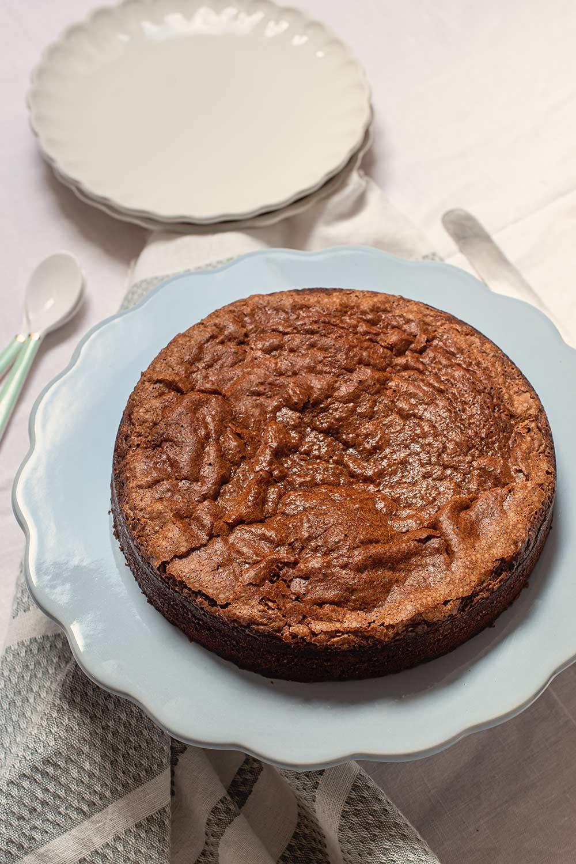 Bizcocho de Nutella con tres ingredientes