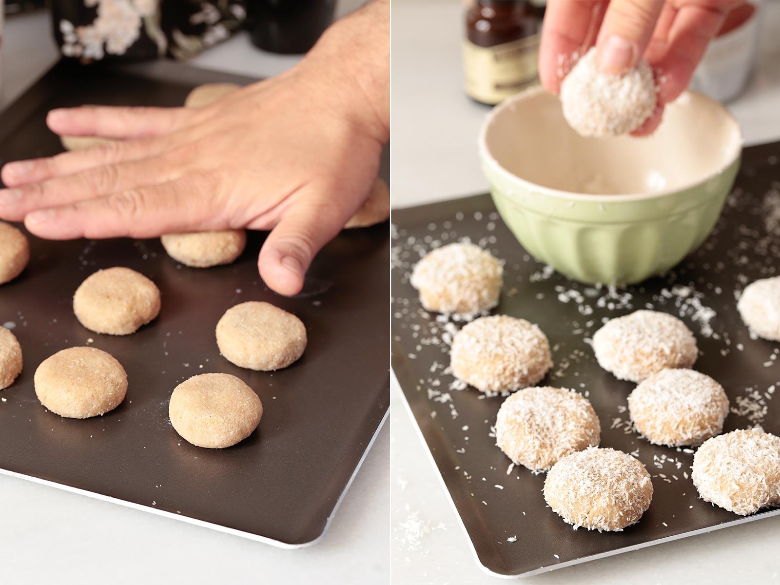 Receta galletas de coco paleo veganas