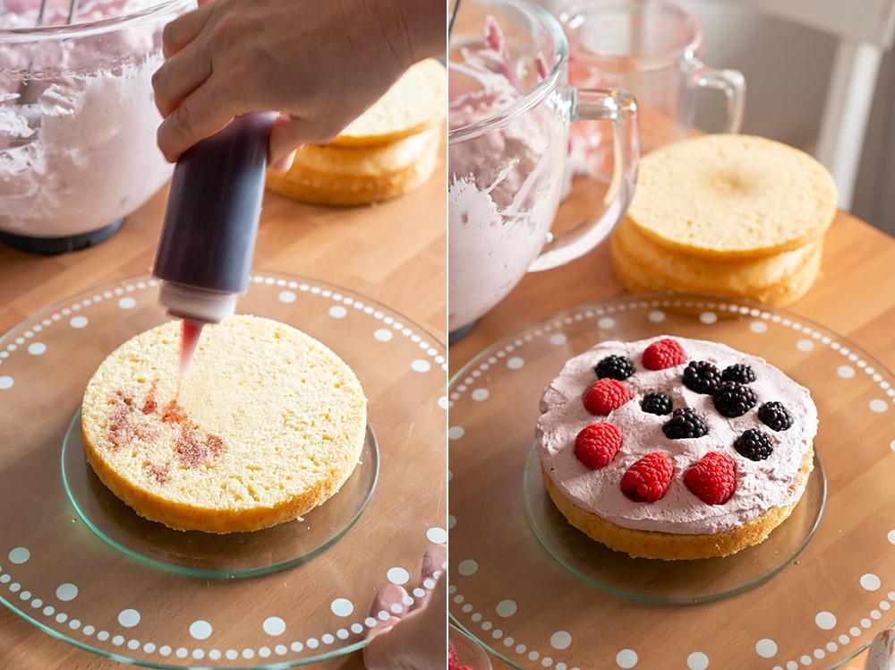 receta tarta sangria