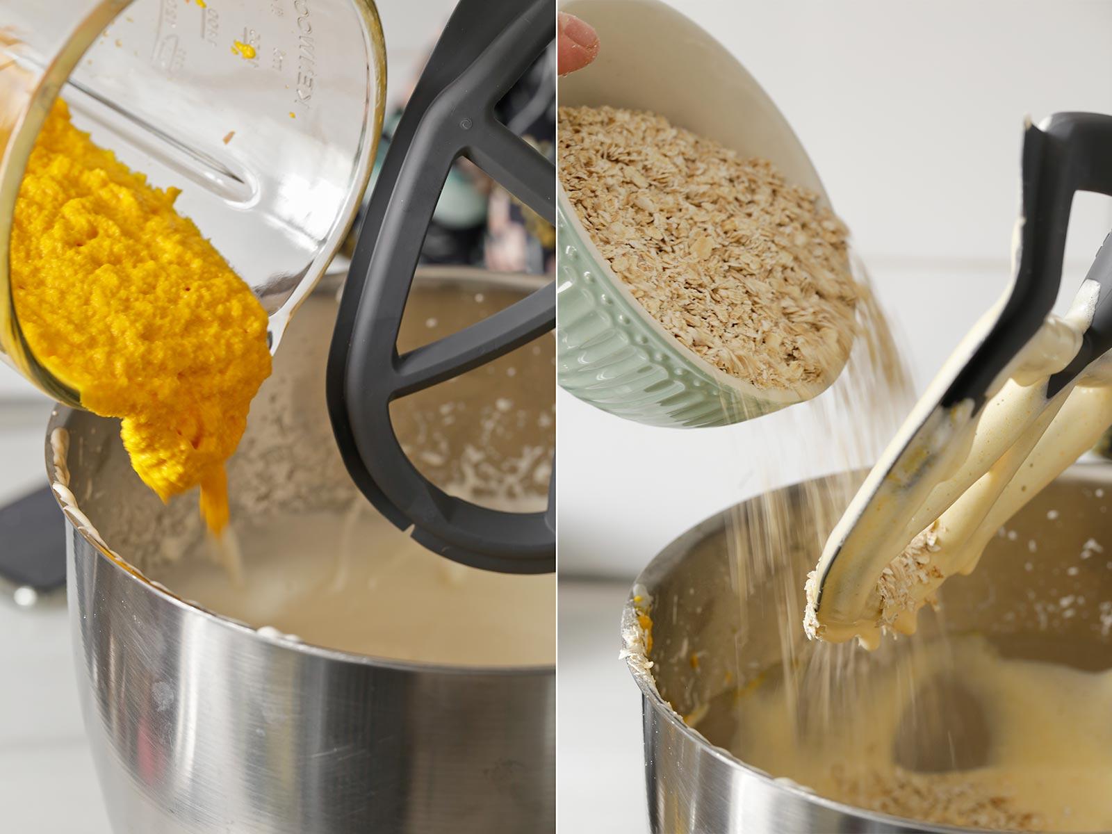 Receta bizcocho de zanahoria y avena