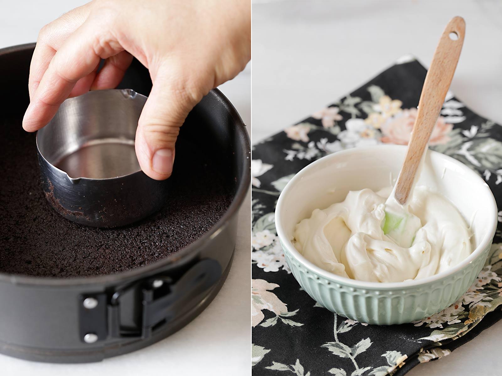 Receta tarta mousse de café y orujo