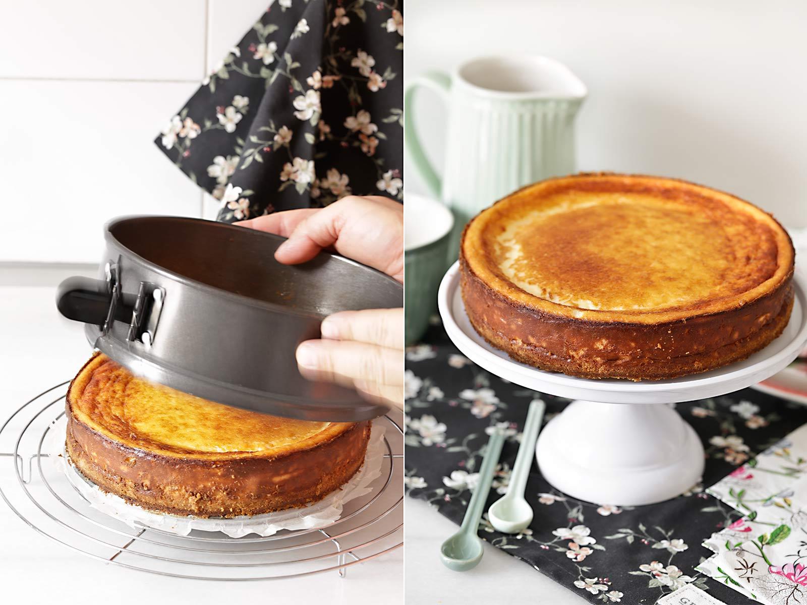Receta tarta de queso de Fernando Alcalá