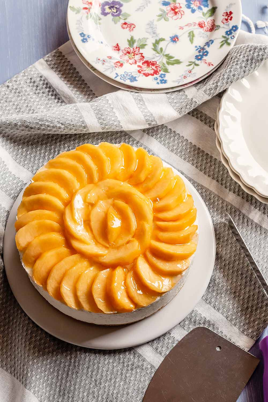 receta tarta yogur fruta