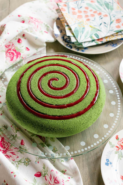 receta tarta manzana verde