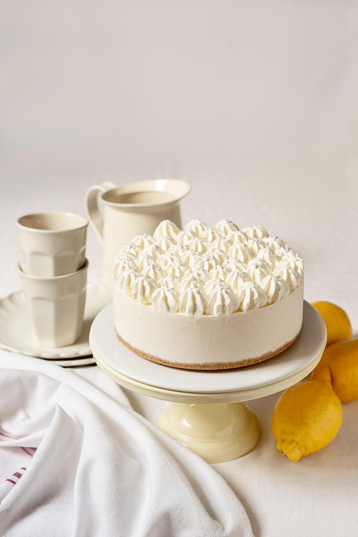 receta tarta queso limon sin horno