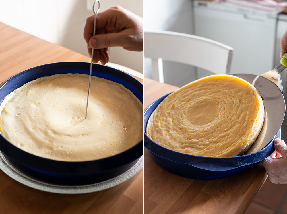 receta tarta queso microondas
