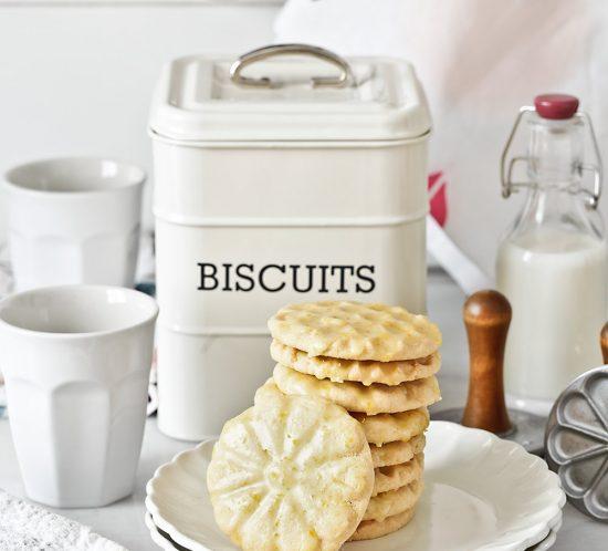 Receta galletas de cítricos con sellos