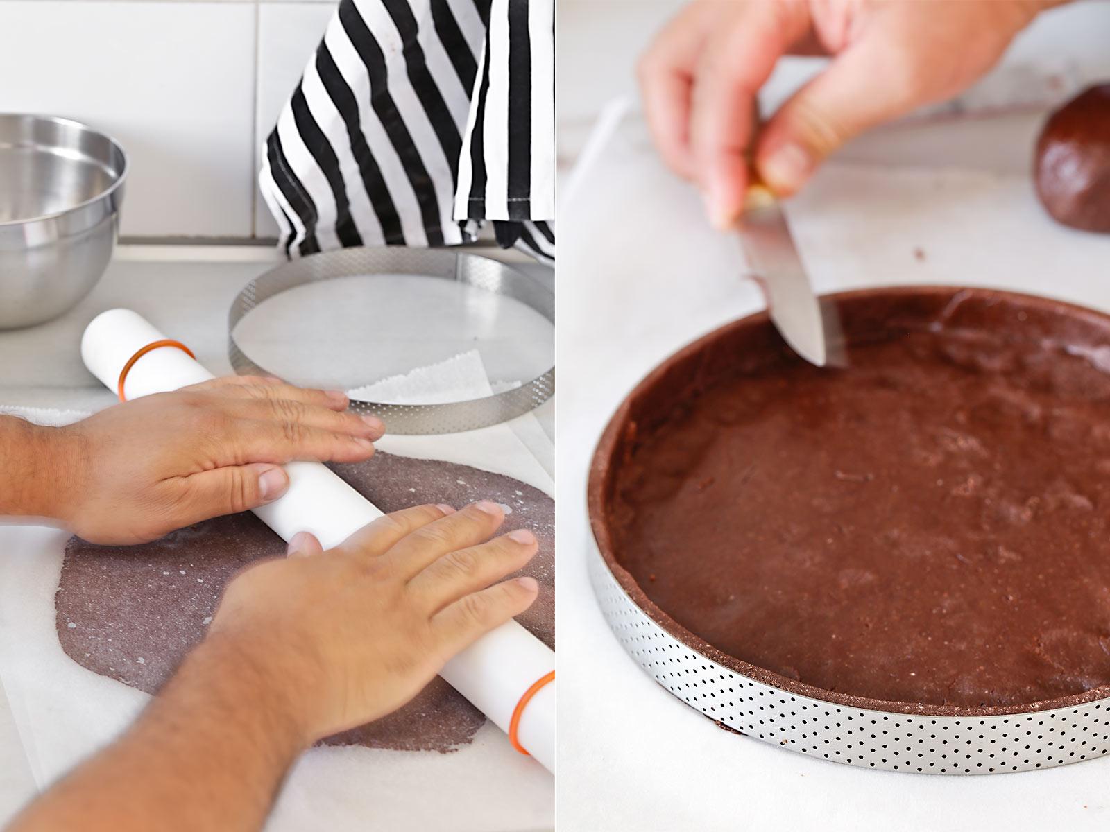 Receta tarta 100% de chocolate