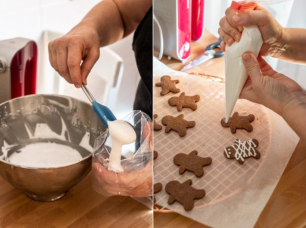 receta galletas momia halloween