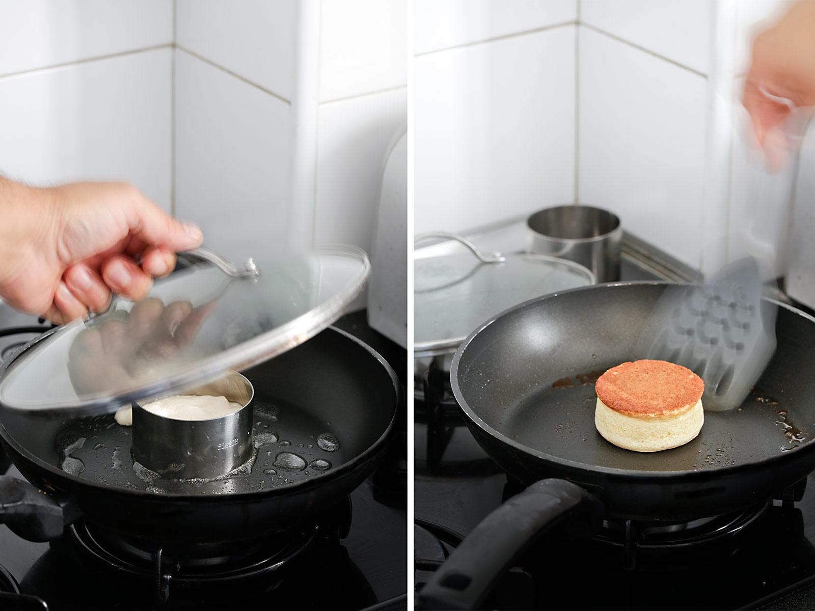 Receta tortitas soufflé japonesas