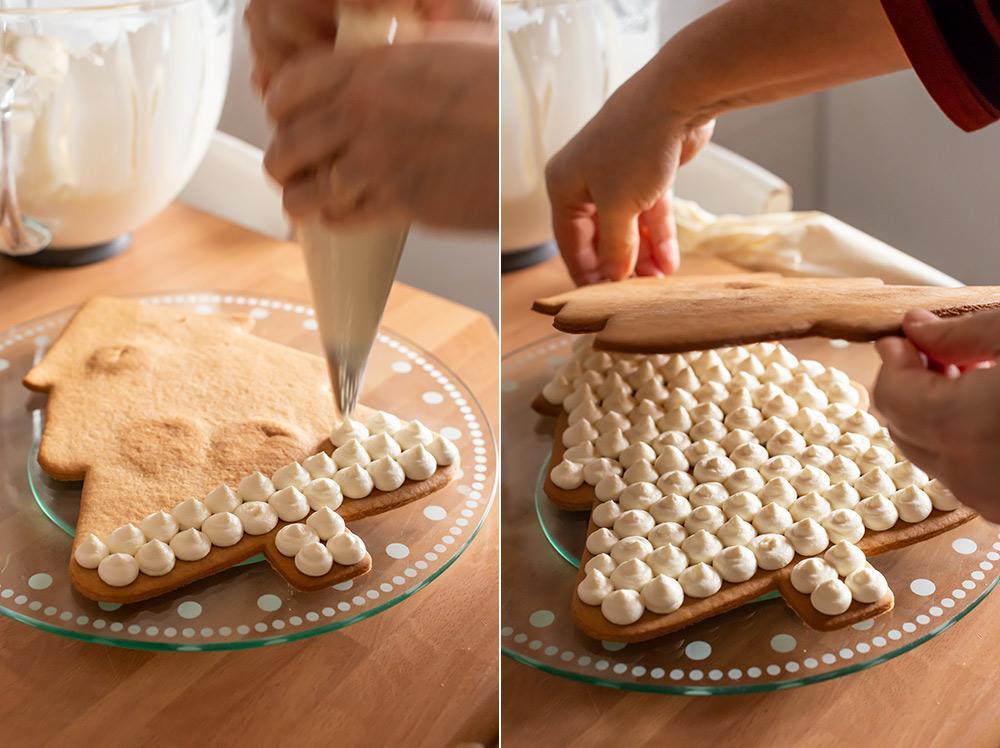 receta tarta arbol navidad