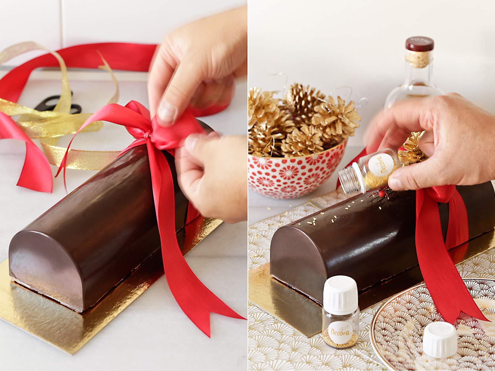 Receta turrón de chocolate y Nutella para Navidad