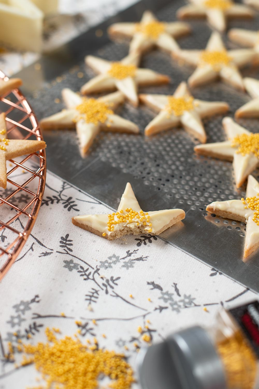 receta estrellas canela navidad