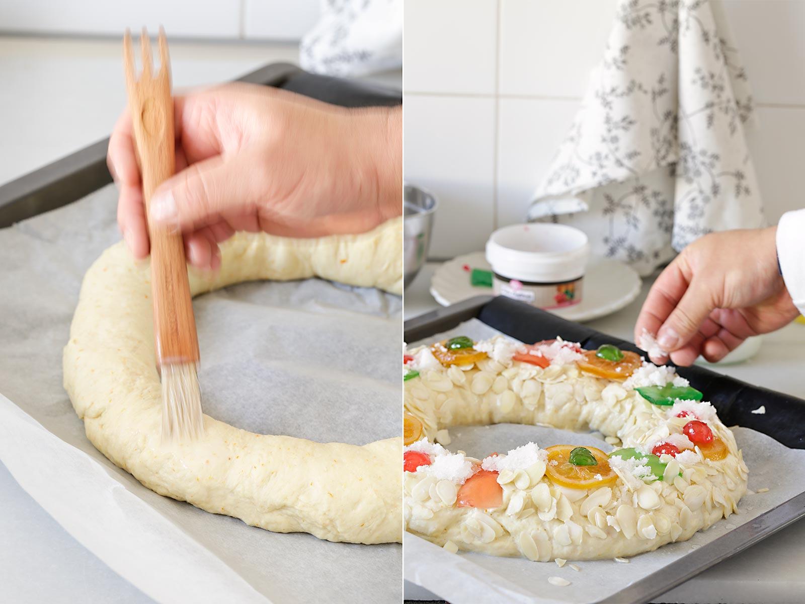 Receta Roscón de Reyes vegano