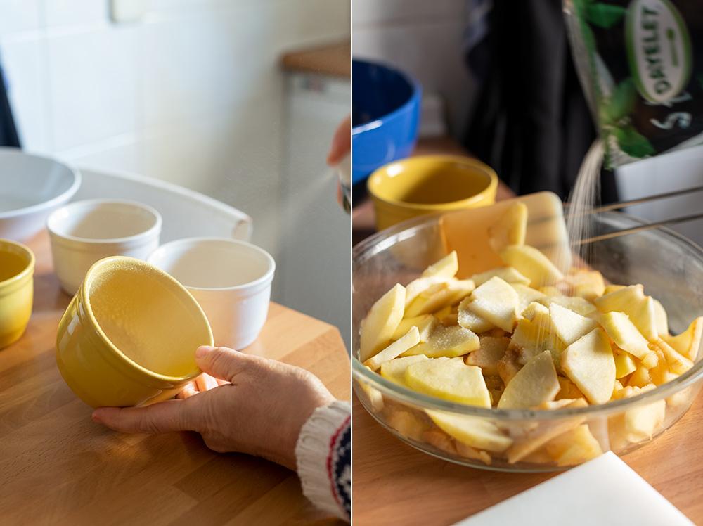 receta tartitas frutas sin azucar ni mantequilla