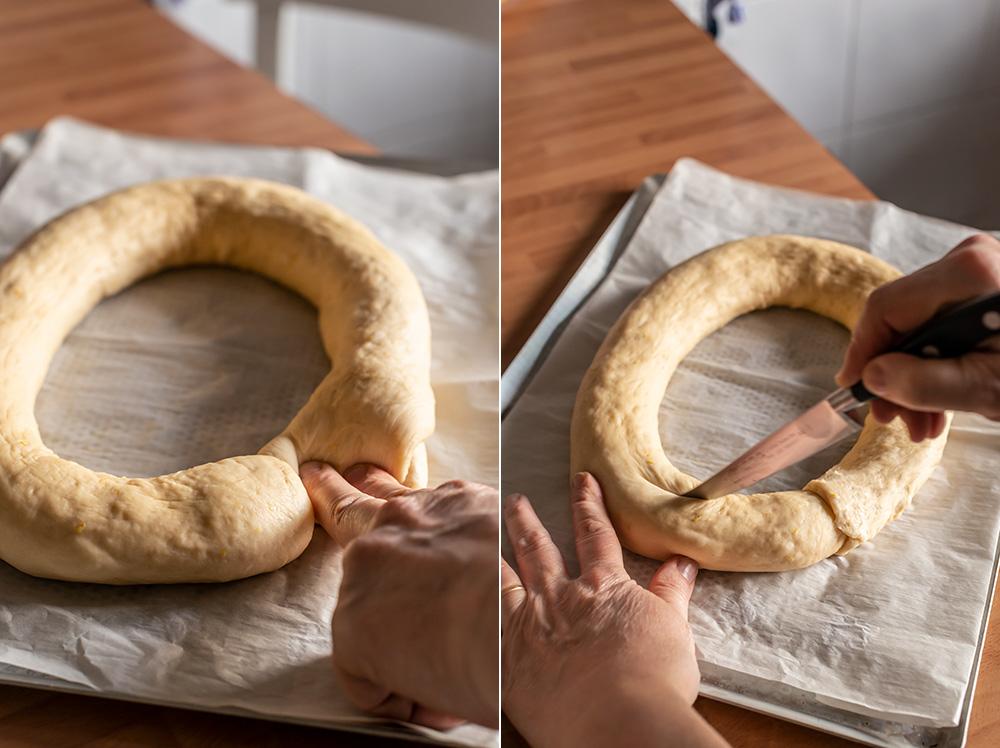 receta tortell reyes mazapan