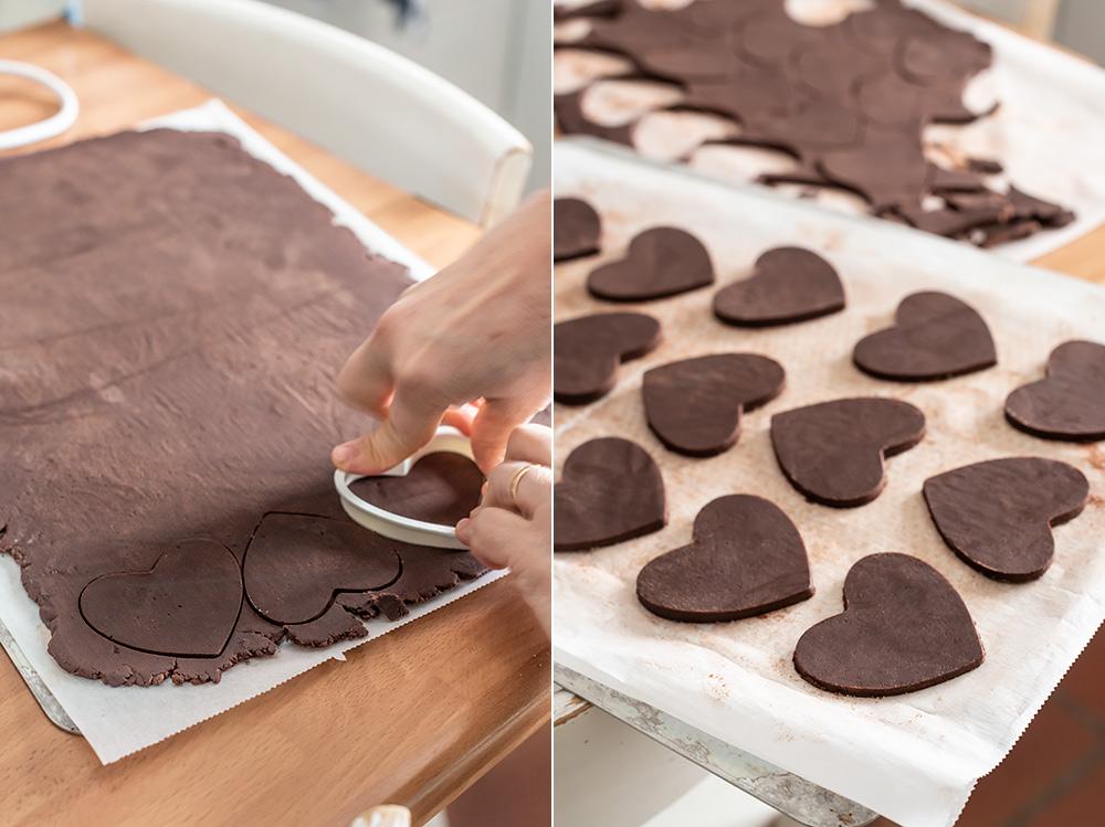 receta corazones chocolate san valentin