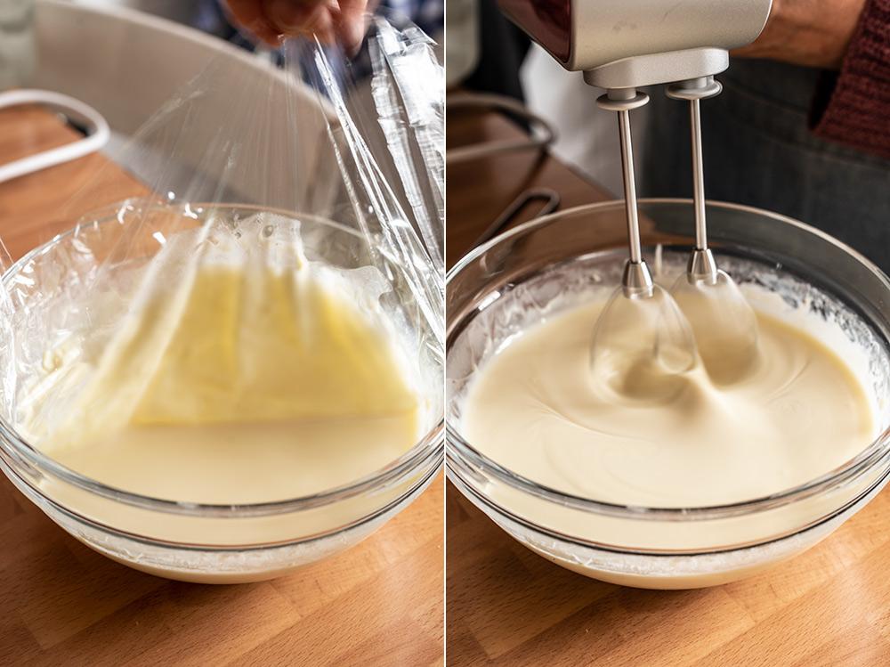 receta crema mascarpone chocolate blanco relleno
