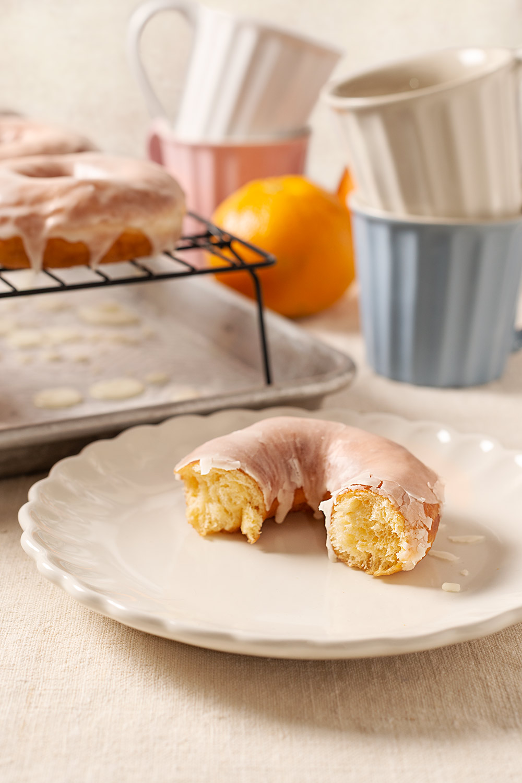 receta donuts naranja