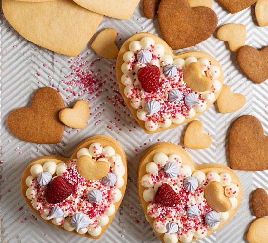 receta minitartas corazon san valentin