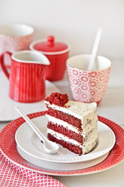 Receta tarta red velvet para San Valentín