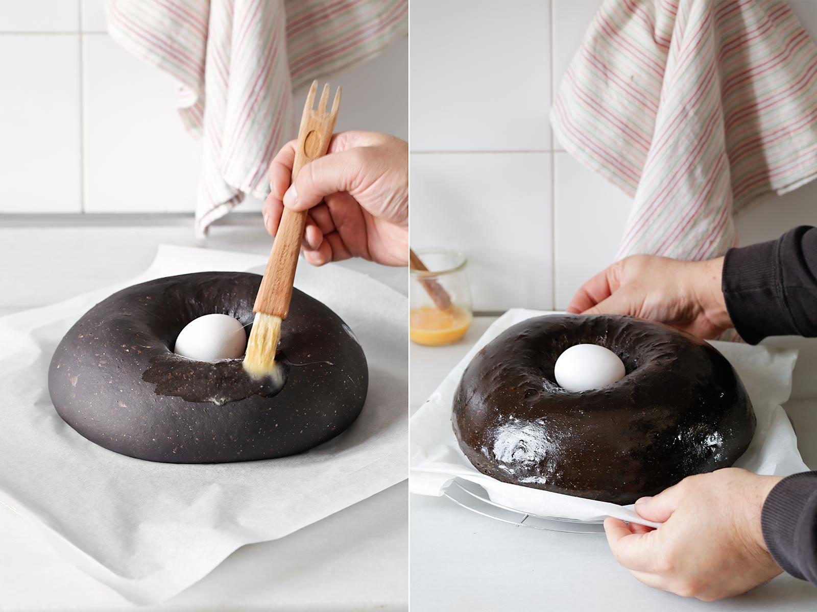 Receta mona de Pascua de chocolate