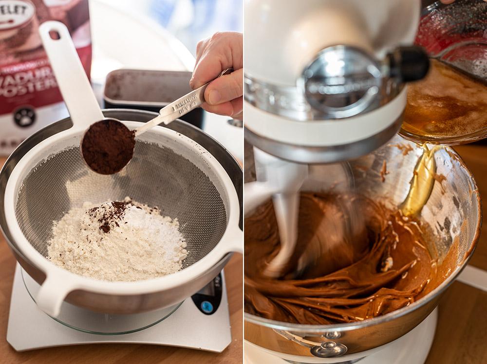 receta madeleines chocolate