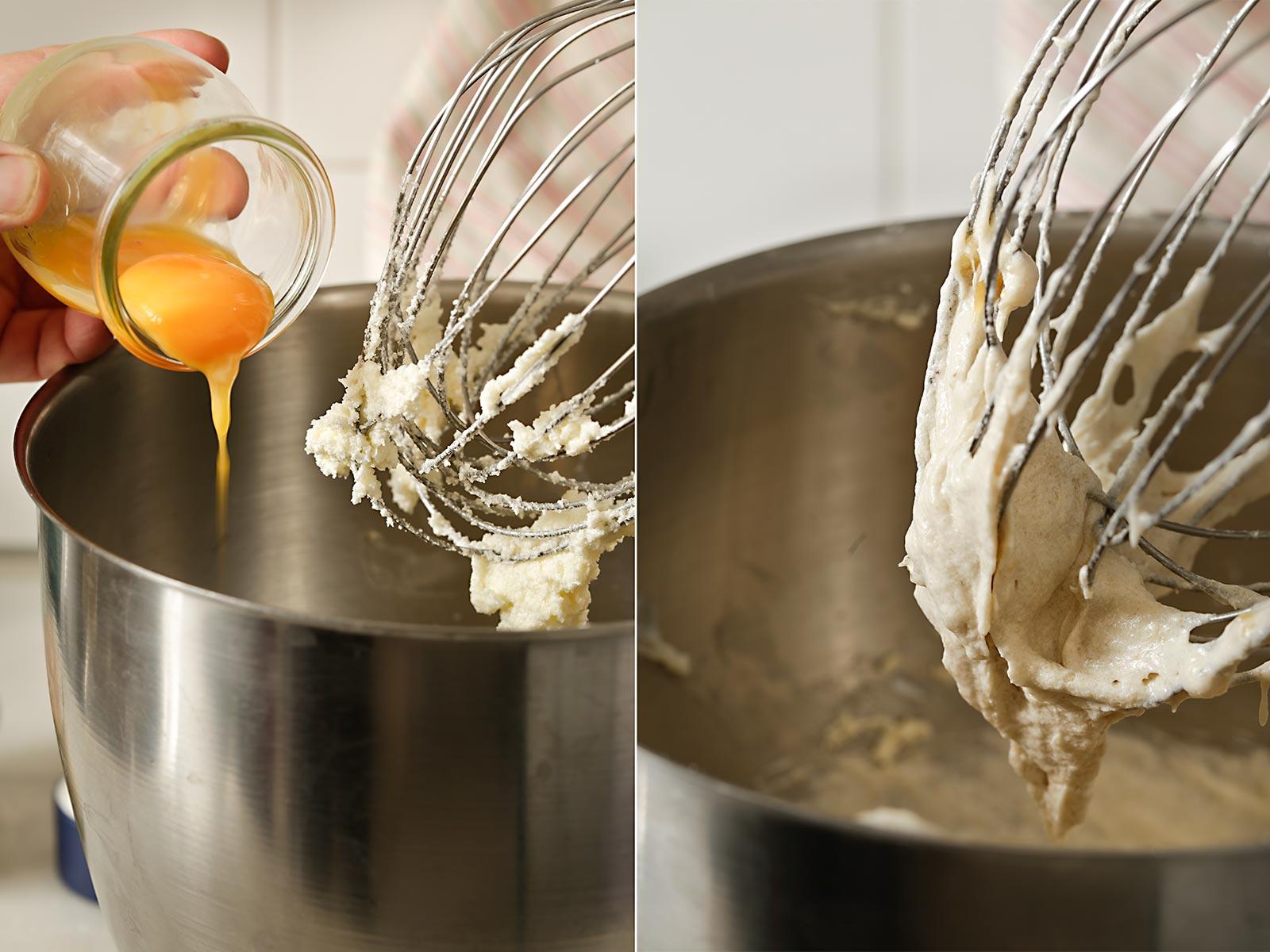 Receta magdalenas de plátano con crème brûlée