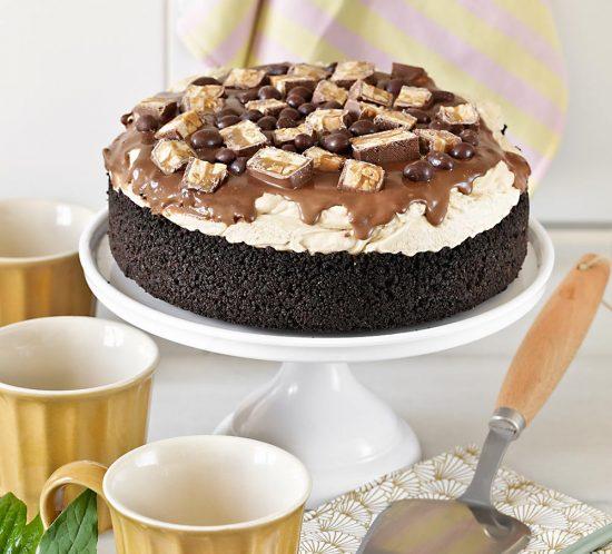 Receta cheesecake de mantequilla de cacahuete y Oreos