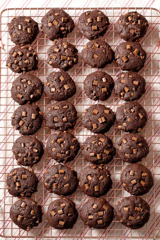 receta galletas brownie naranja