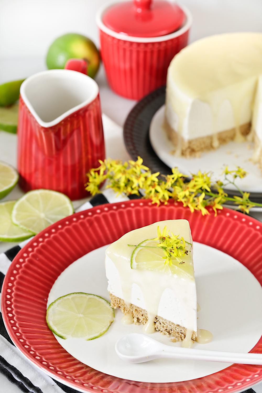 Receta de cheesecake de lima sin horno