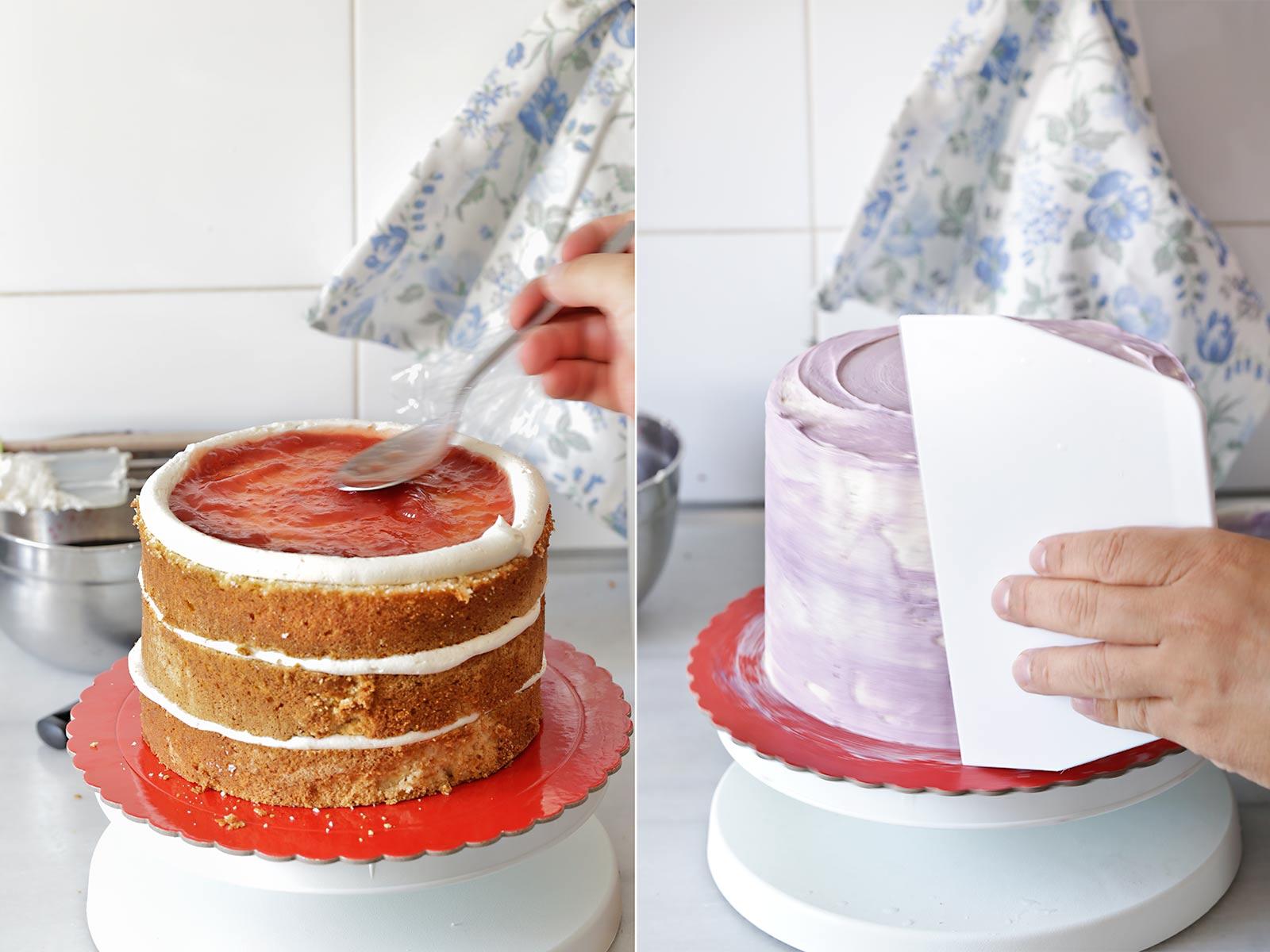 Cómo hacer una tarta géoda