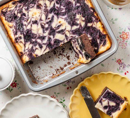 receta brownie oreo tarta queso