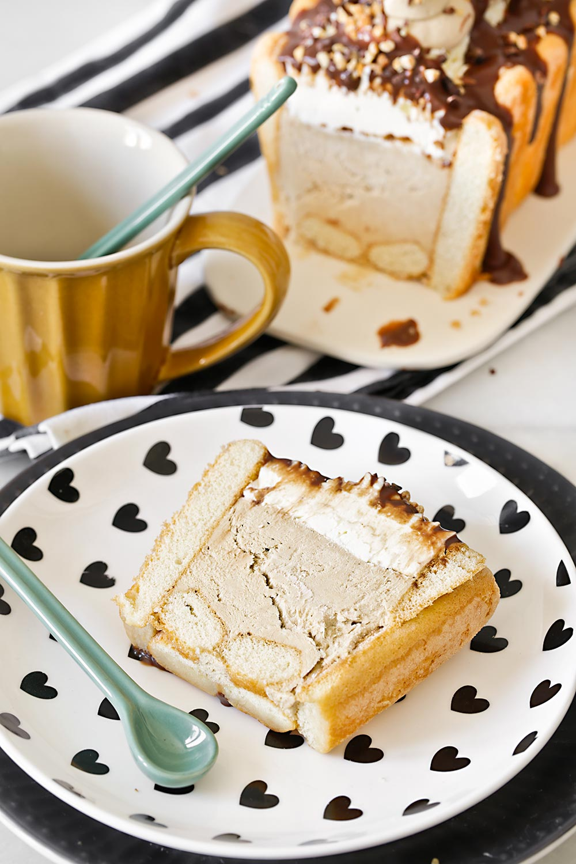 Receta tarta semifrío de tiramisú