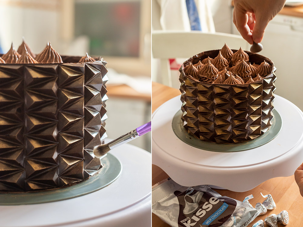 receta tarta origami chocolate